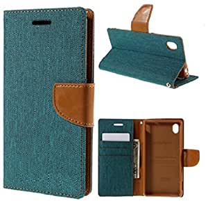 DENICELL Royal Dairy Style Flip Cover For HTC ONE M9 (MATTE GREEN)