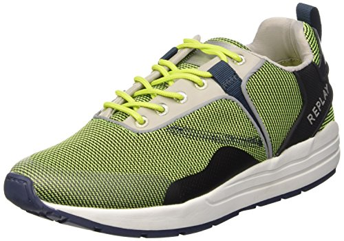 REPLAY Monsur, Herren Sneakers, Grün (GREEN 27), 43 EU thumbnail