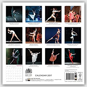 Royal Ballet - Königlich Britisches Ballett 2017: Original Flame Tree Publishing-Kalender