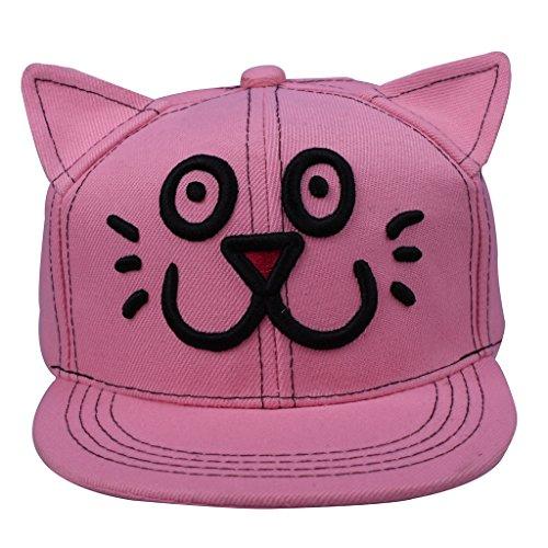 Pink Cat Ears Snapback