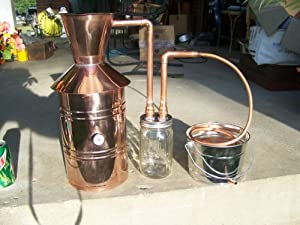 Amazon.com: Copper Alcohol Moonshine Still: Beer Brewing ...