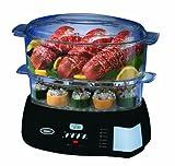 Oster 5716 Programmable Digital Food Steamer, Black