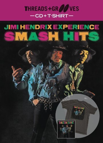 Threads + Grooves (Smash Hits CD + Large T-Shirt) by JIMI HENDRIX EXPERIENCE, THE (2013-02-12)