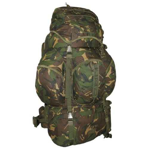 88 Litre Forces Rucksack / Backpack Woodland Camouflage