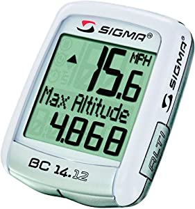 Sigma Sport BC14.12 14 Function Bicycle Computer with Altimeter