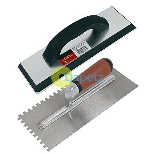 dapetz-r-ceramic-tiling-tool-kit-grout-float-notched-tile-adhesive-trowel-grouting