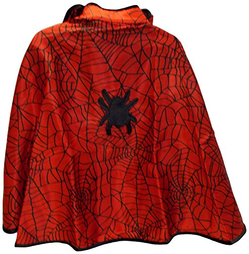 Creative Education Spiderman Spider Girl Cape Child M 5-6 NWT Belt Hood - 1