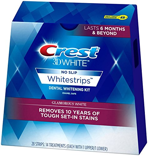 Crest 3d Whitestrips Glamorous White, 14 Treatments, 0.12 Pound (Crest Whitening Advanced Seal compare prices)