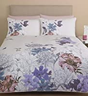 Bird & Butterfly Print Bedset