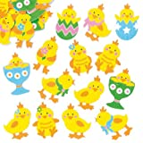 Easter Chick Felt Stickers for Children to Decorate Cards Crafts and Collage Pack of 90