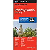 Rand Mcnally Easy To Read: Pennsylvania State Map