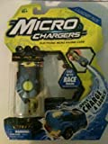 Micro Chargers Series 2 Launcher Pack, Blue Race Micro Charger and Launcher