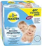 Penaten Baby Sensitiv-Pflegetücher, 4er Vorteilspack, 224 Feuchttücher