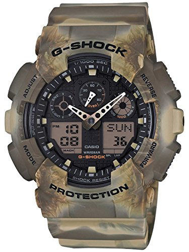 Casio G-Shock Wristwatch Unisex Electronic,Quartz (battery) Green - watches (Wristwatch, Unisex, Resin, Green, Green, Mineral)