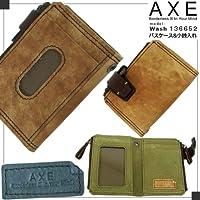 va-136652-ike ・10AXE/Wash136652モデルパスケース&小銭入れアックス・ウォッシュ