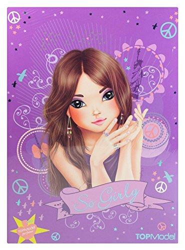 Despacho 7997 - papelería topmodel con perfume, cartera, alrededor de 27,5 x 20 x 1 cm, bloques de papel de la escuela