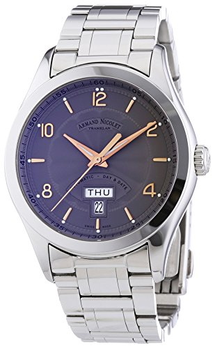 armand-nicolet-mens-automatic-watch-with-grey-dial-analogue-display-and-silver-stainless-steel-brace