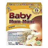 Hot-Kid Baby Mum-Mum Original Flavor Rice Biscuit, 24-pieces (Pack of 6)