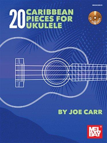 joe-carr-20-caribbean-pieces-for-ukulele-book-cd-sheet-music-cd