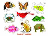 Charley-Harper-Classic-Wooden-Peg-Puzzle