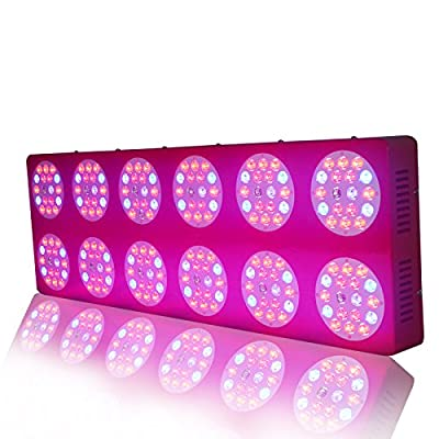 WYZM ZNET12 Super Bright 1000w Daisy Chain Full Spectrum LED Grow Lights