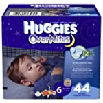 Huggies OverNites Diapers, Size 6, Bi...