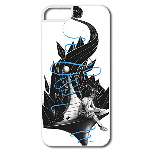 Abstract Fish Plastic Nice Cover For Iphone 5/5S