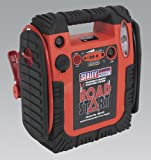 Sealey RS132 RoadStart Emergency Power Pack with Compressor 12V 900 Peak Amps (RS-132)