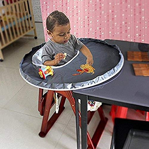 Willcome Restaurant and Home Baby Feeding Saucer High Chair Cover