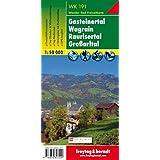 Freytag Berndt Wanderkarten, WK 191, Gasteiner Tal - Wagrain - Raurisertal - Großarltal - Maßstab 1:50.000 (freytag & berndt Wander-Rad-Freizeitkarten)