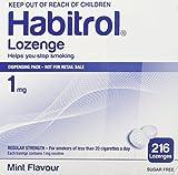 Habitrol Nicotine Lozenge Mint Flavor 216 Lozenges (1mg)