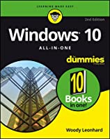 Windows 10 All-In-One For Dummies, 2nd Edition Front Cover