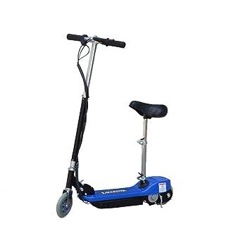 E-Scooter, monopattino elettrico in alluminio e plastica con motorino da 120 W