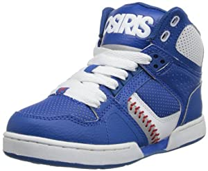 Osiris NYC 83 Skate Shoe (Little Kid/Big Kid),Blue/White/Red,5 M US Big Kid