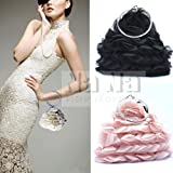 Elegant Bridal Handbag Accessories Beaded Evening Purse Mini Bag Wedding Clutch Holiday Birthday Christmas Gift Sil007-2 Colors Available
