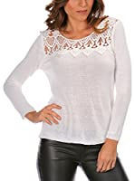 Anouska Jersey Laurie (Blanco)