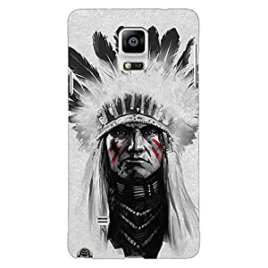 Jugaaduu Triabl Man Back Cover Case For Samsung Galaxy Note 4