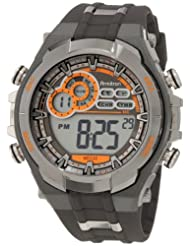 Armitron 408188GMG Chronograph Black Digital