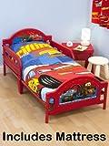 Disney Cars 2 'Espionage' Junior Toddler Bed + Fully Sprung Mattress