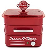 Smart Planet HDS1 Steam-O-Matic Hot Dog Steamer, Red