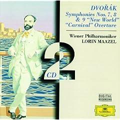 """Dvor�k: Symphonies Nos. 7, 8 & 9 """"New World"""" � """"Carnival"""" Overture"""