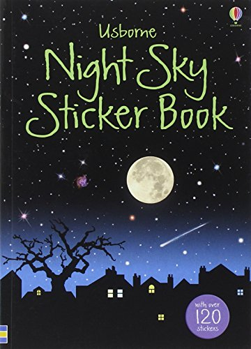 Night Sky Sticker Book (Usborne Spotter's Sticker Guides)