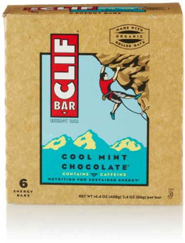 Clif Bar, Cool Mint Chocolate, 6 Count
