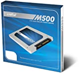 Crucial M500 120GB SATA 2.5-Inch 7mm (with 9.5mm adapter) Internal Solid State Drive CT120M500SSD1