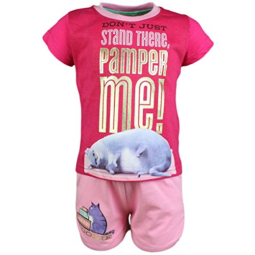 T-shirt Maniche Corte con Pantaloncini The Secret Life of Pets Ragazza Chloe