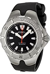 Ebel Men's 1215581 Sportwave Diver Black Dial Watch