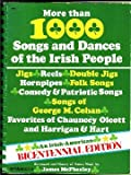 img - for More than 1000 Songs and Dances of the Irish People book / textbook / text book