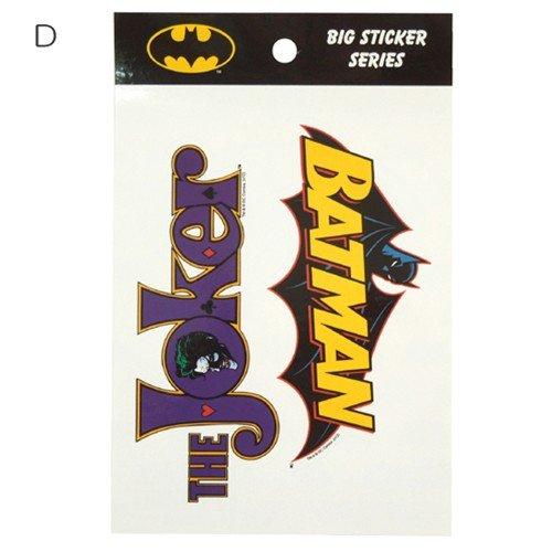 バットマン/BATMAN ビッグサイズステッカーアメコミキャラクターグッズ通販【D】