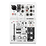 Yamaha AG03 3-Channel Mixer / 1 Microphone (Color: White)