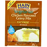 Hain Pure Foods Vegetarian Chicken Flavored Gravy Mix, 1 Ounce (Pack of 24) ~ Hain